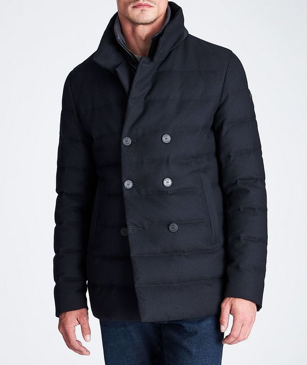 Quilted Double-Breasted Jacket picture 5