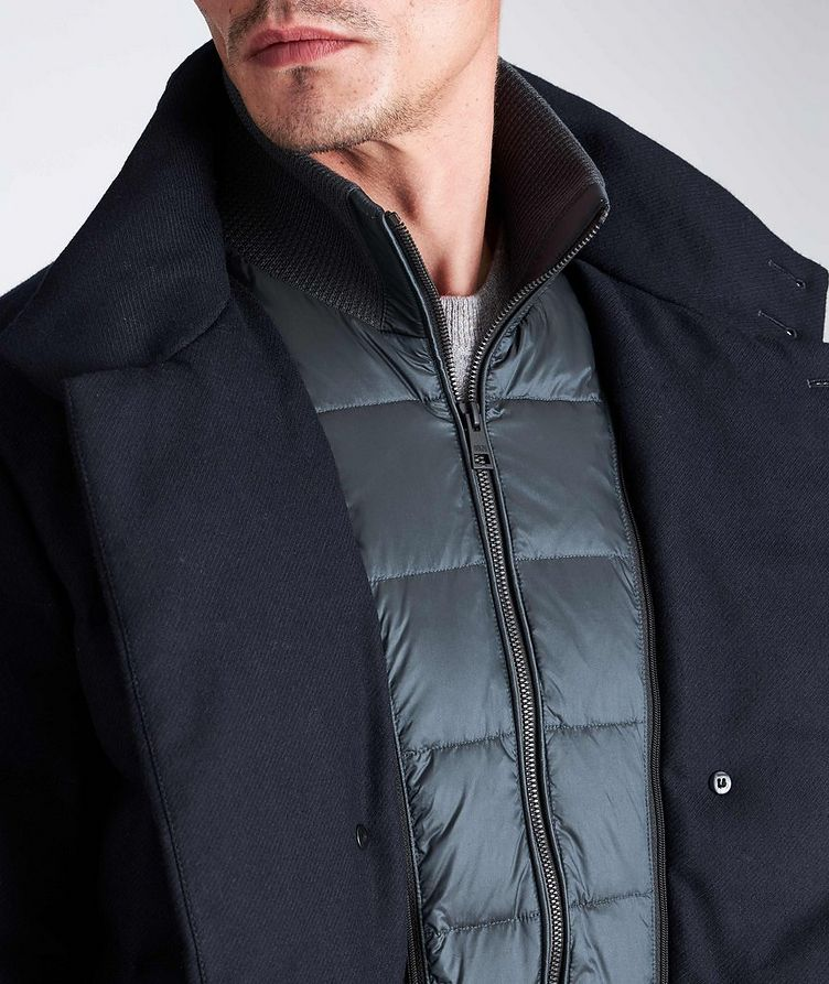 Quilted Double-Breasted Jacket image 6