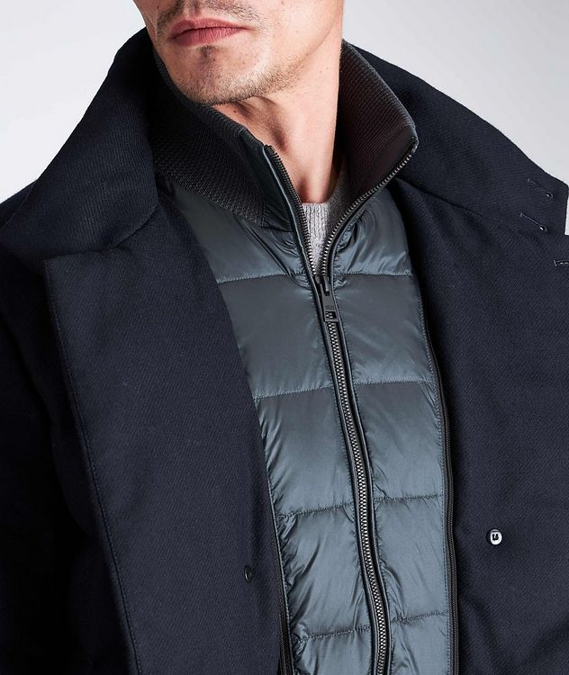 Quilted Double-Breasted Jacket picture 7