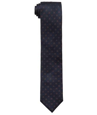 Eton Neat-Printed Silk Tie