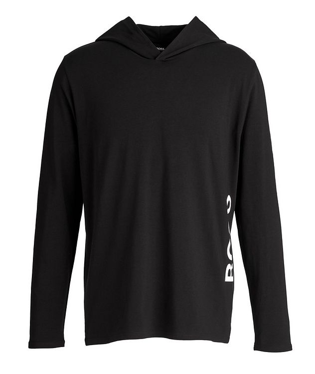 Identity Long-Sleeve Hooded T-Shirt picture 1