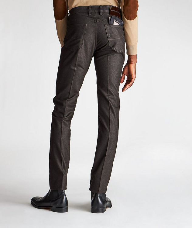 Slim-Fit Five-Pocket Wool Pants picture 2