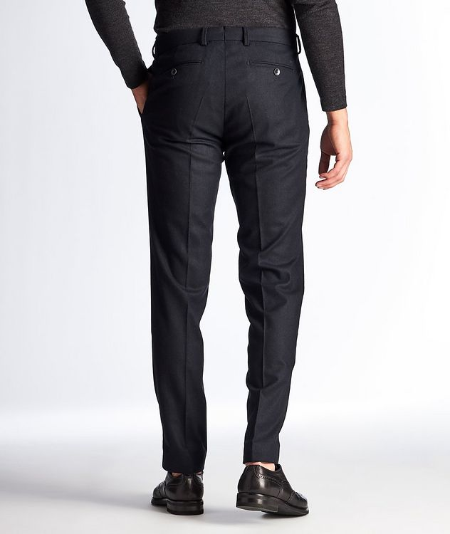 Felix Slim Fit Stretch-Wool Trousers picture 2