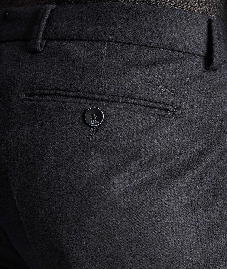 Felix Slim Fit Stretch-Wool Trousers image 2