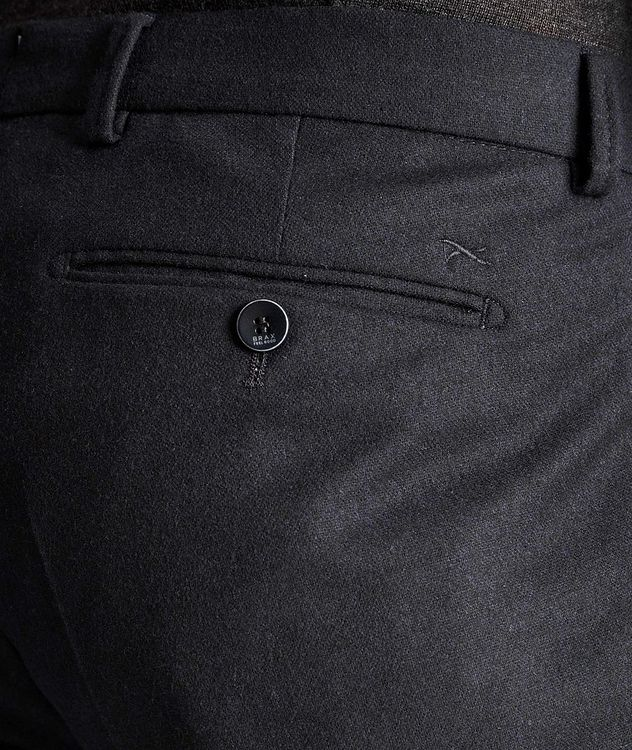 Felix Slim Fit Stretch-Wool Trousers picture 3