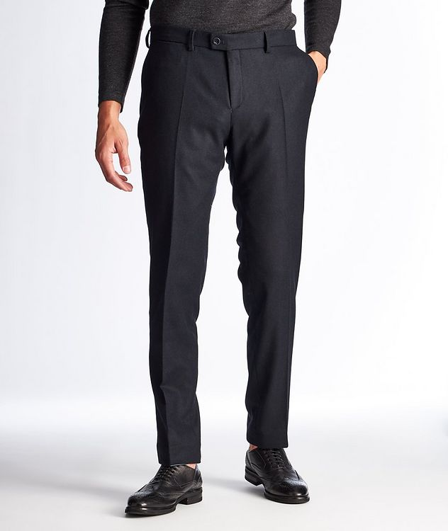 Felix Slim Fit Stretch-Wool Trousers picture 1