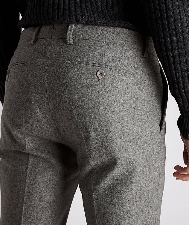 Felix Slim-Fit Stretch-Wool Trousers picture 3