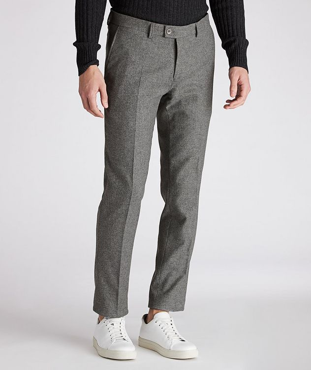 Felix Slim-Fit Stretch-Wool Trousers picture 1