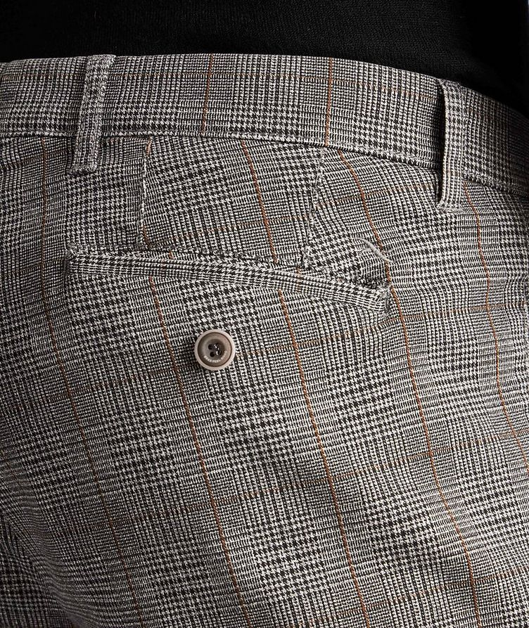 Paul Contemporary Fit Checked Chinos image 2