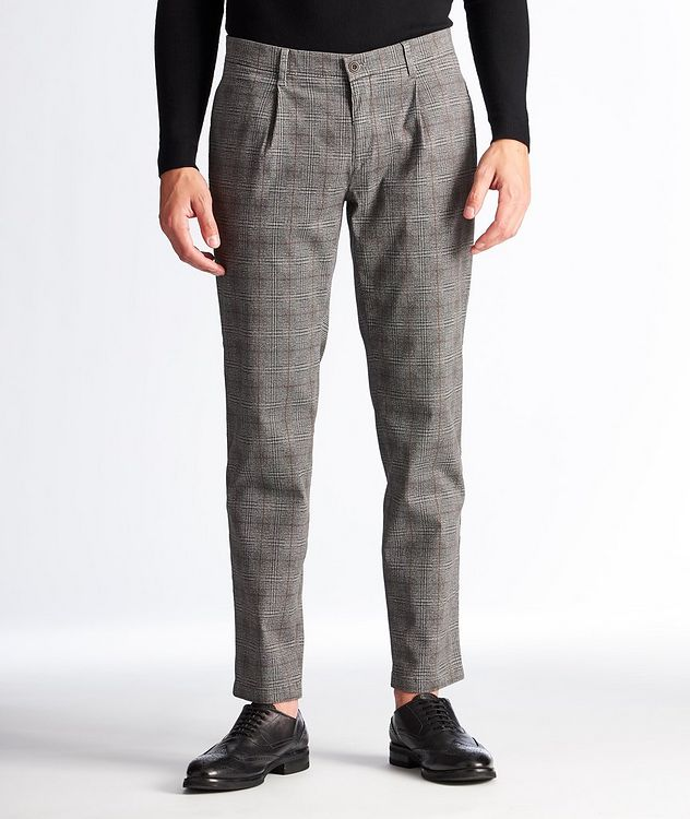Paul Contemporary Fit Checked Chinos picture 1