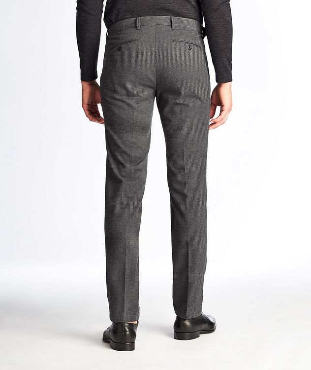 Felix Contemporary Fit Houndstooth Trousers picture 2