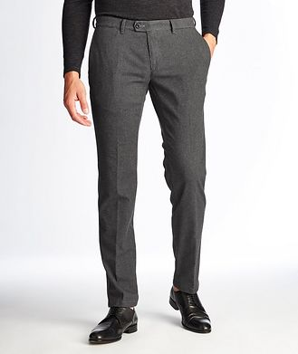 Brax Felix Contemporary Fit Houndstooth Trousers