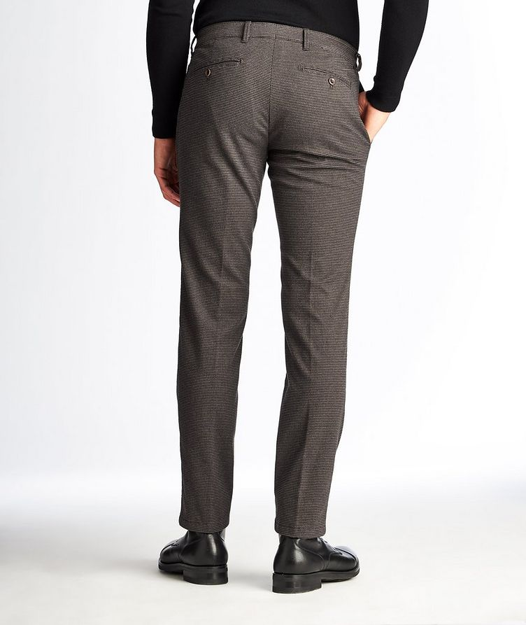Felix Contemporary Fit Houndstooth Trousers image 1