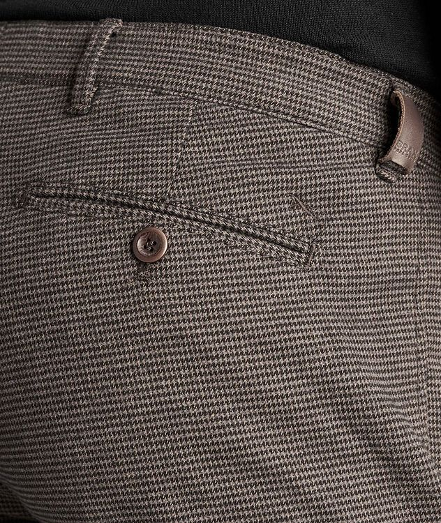 Felix Contemporary Fit Houndstooth Trousers picture 3
