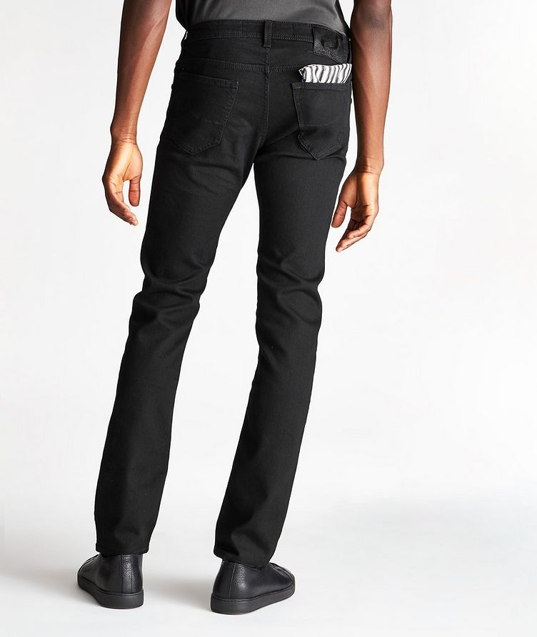 Slim-Fit Cotton-Modal Jeans image 1