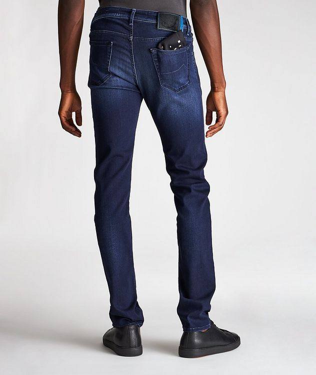 Comfort Slim Fit Stretch Jeans picture 2