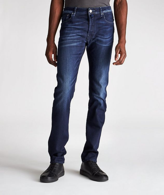 Comfort Slim Fit Stretch Jeans picture 1
