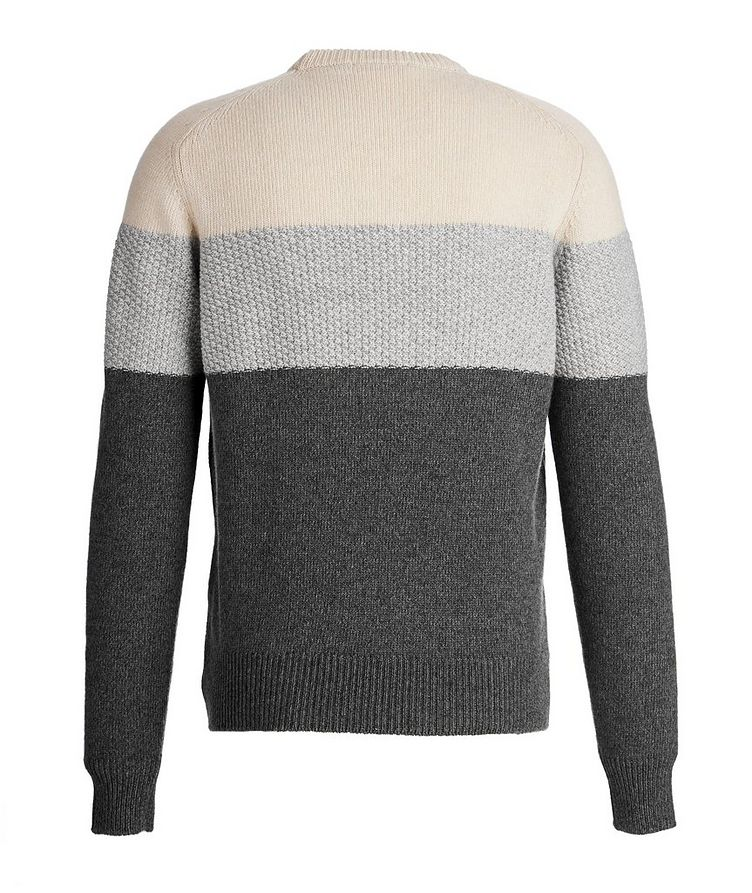Colour Block Cashmere sweater image 1