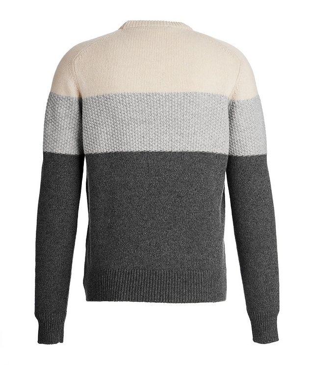 Colour Block Cashmere sweater picture 2