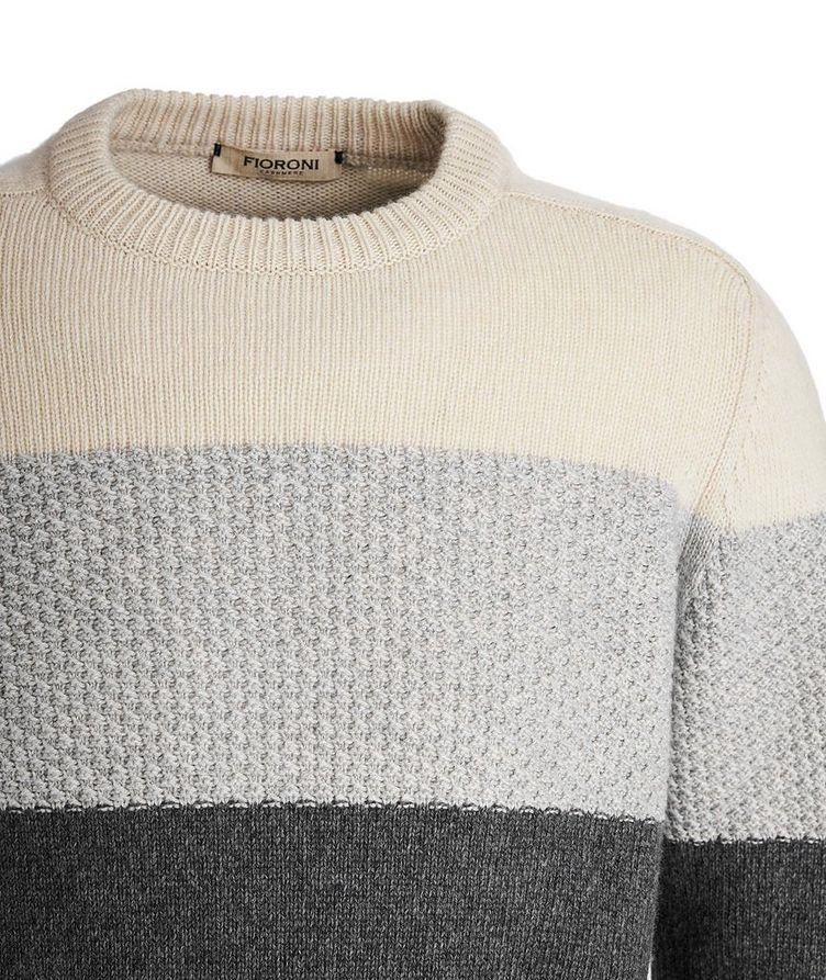Colour Block Cashmere sweater image 2