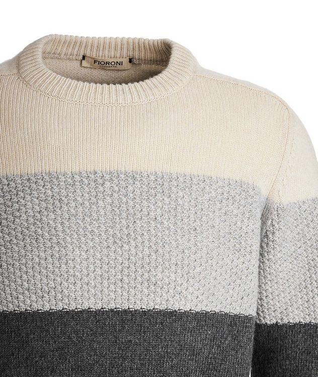 Colour Block Cashmere sweater picture 3