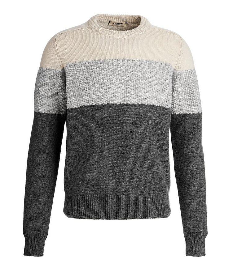 Colour Block Cashmere sweater image 0