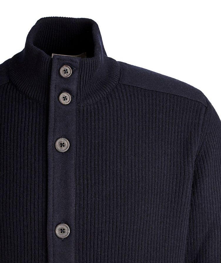 Nautical Wool Cardigan image 2
