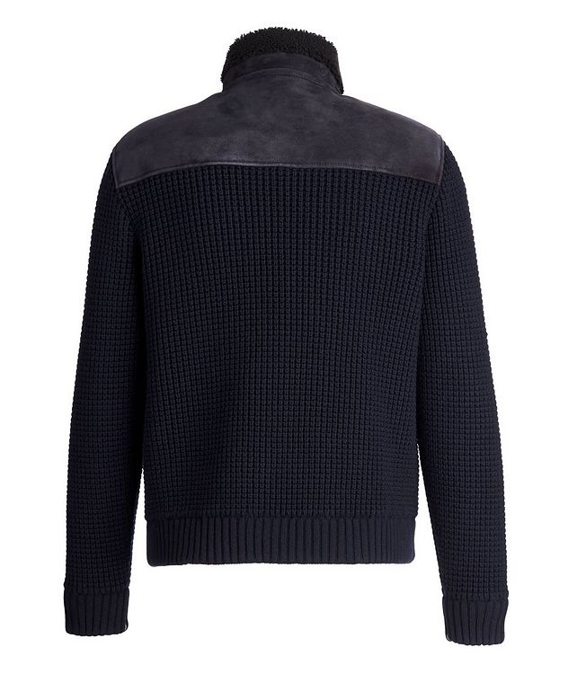 Shearling Wool-Cashmere Sweater picture 2