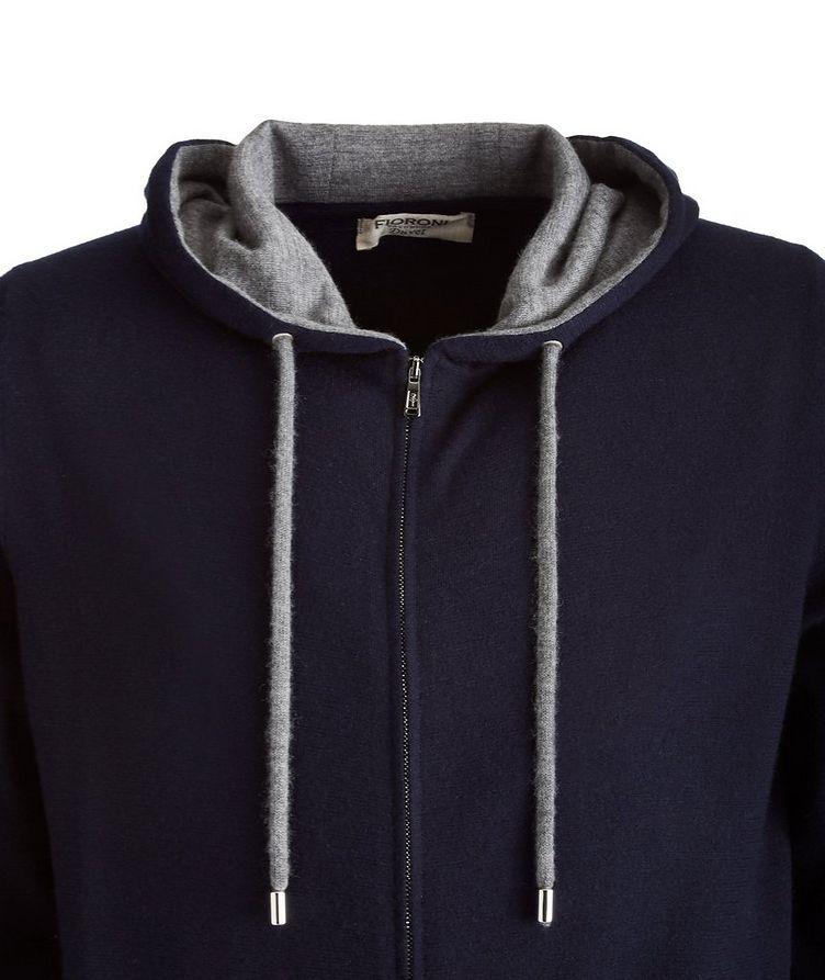 Duvet Cashmere Zip-Up Hoodie image 1