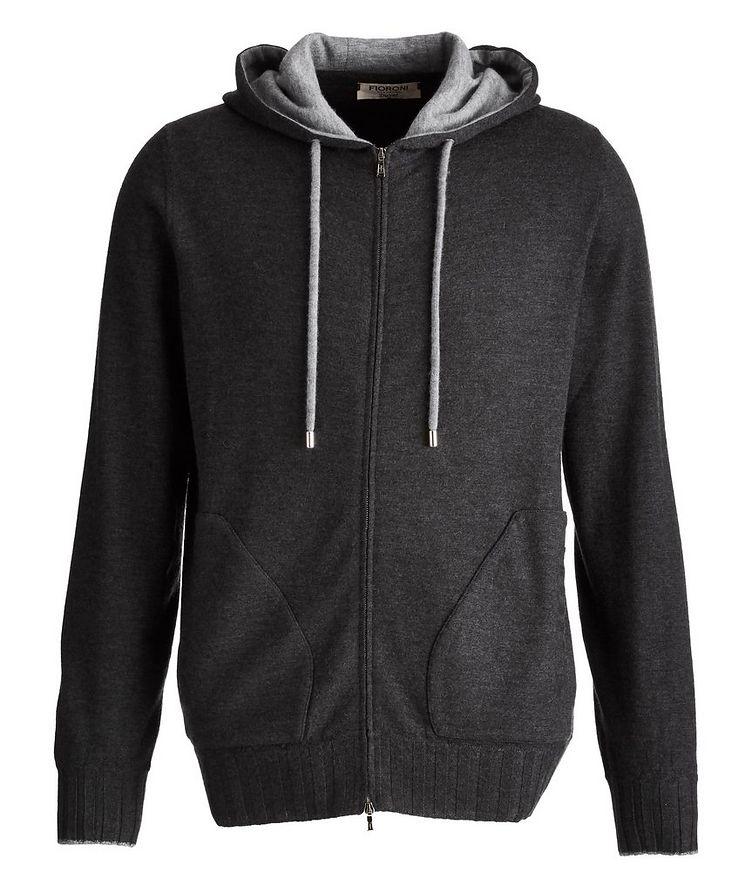 Duvet Cashmere Zip-Up Hoodie image 0