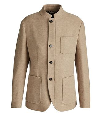 Eleventy Wool-Cashmere Coat