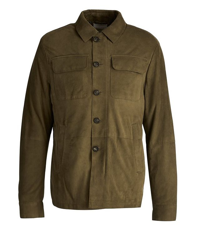 Suede Safari Jacket picture 1