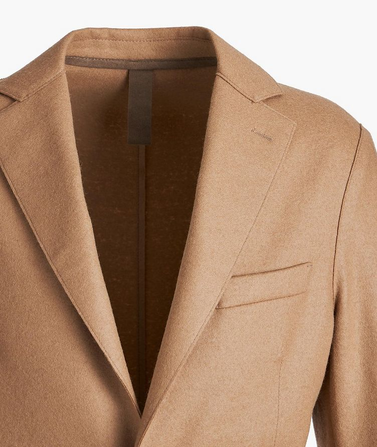 Wool-Blend Unstructured Sports Jacket image 1