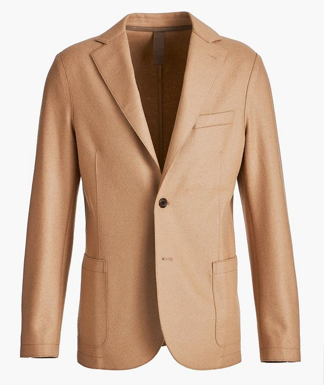Wool-Blend Unstructured Sports Jacket picture 1