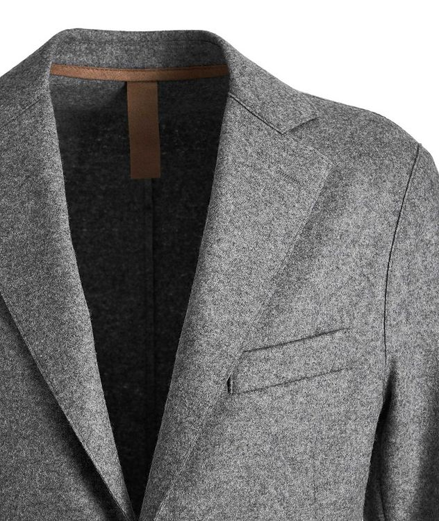 Wool-Blend Unstructured Sports Jacket picture 2