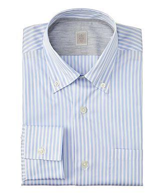 Eleventy Striped Cotton Shirt