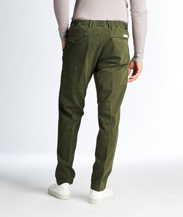 Striped Stretch-Cotton Chinos picture 2