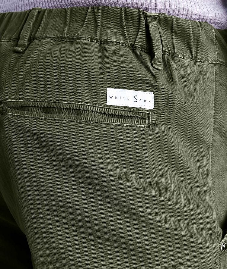 Striped Stretch-Cotton Chinos image 2