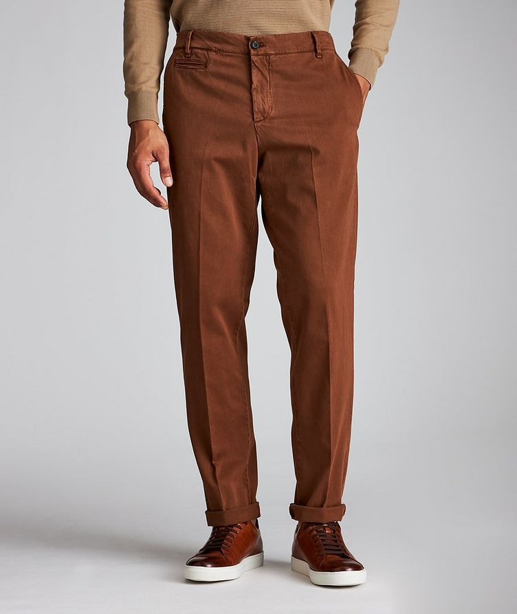 Stretch-Cotton Chinos image 0