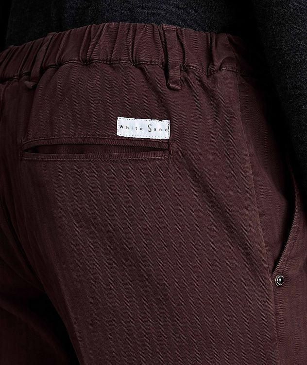 Striped Stretch-Cotton Chinos picture 3