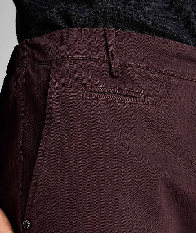 Striped Stretch-Cotton Chinos picture 4