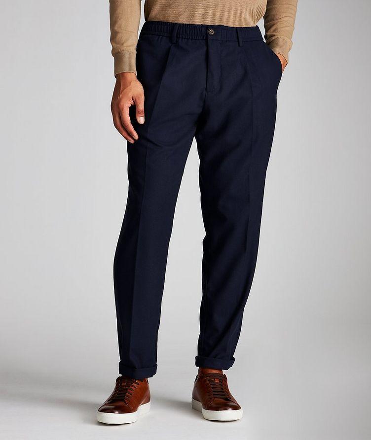 Stretch Drawstring Pants image 0