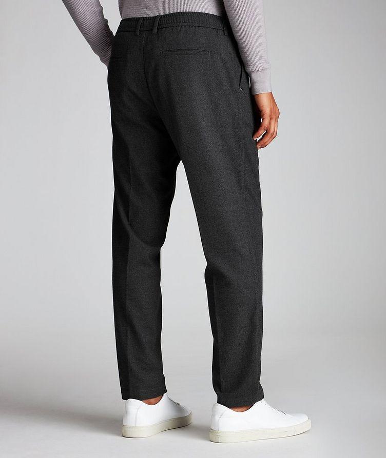 Pantalon en tissu extensible à cordon image 1