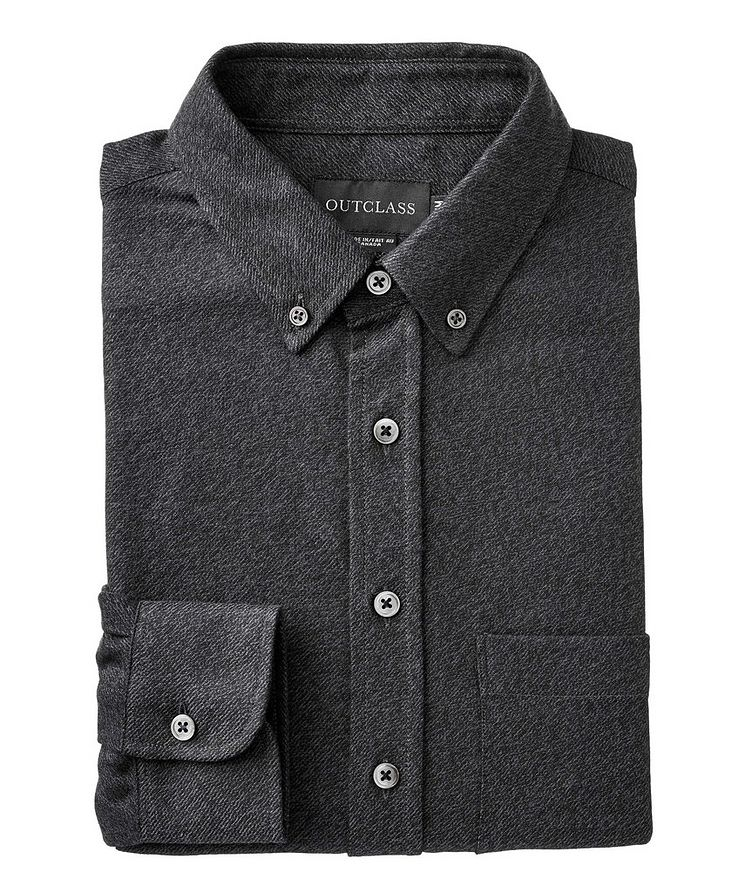 Contemporary Fit Cotton Shirt image 0
