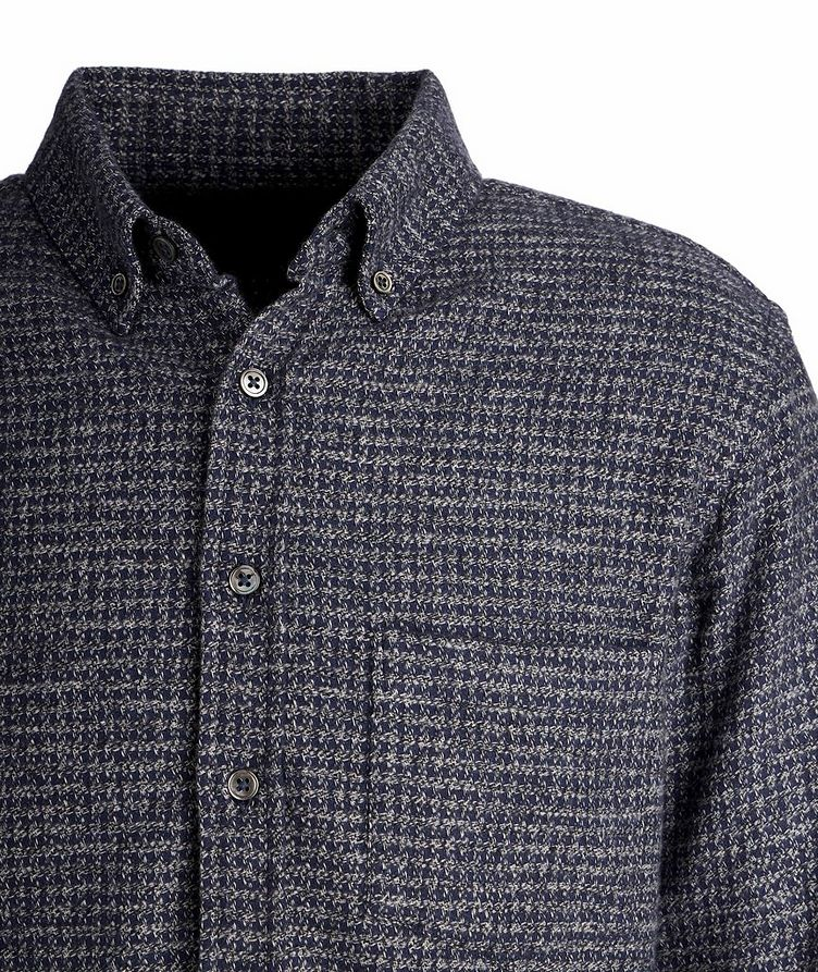 Houndstooth Cotton-Flannel Shirt image 1
