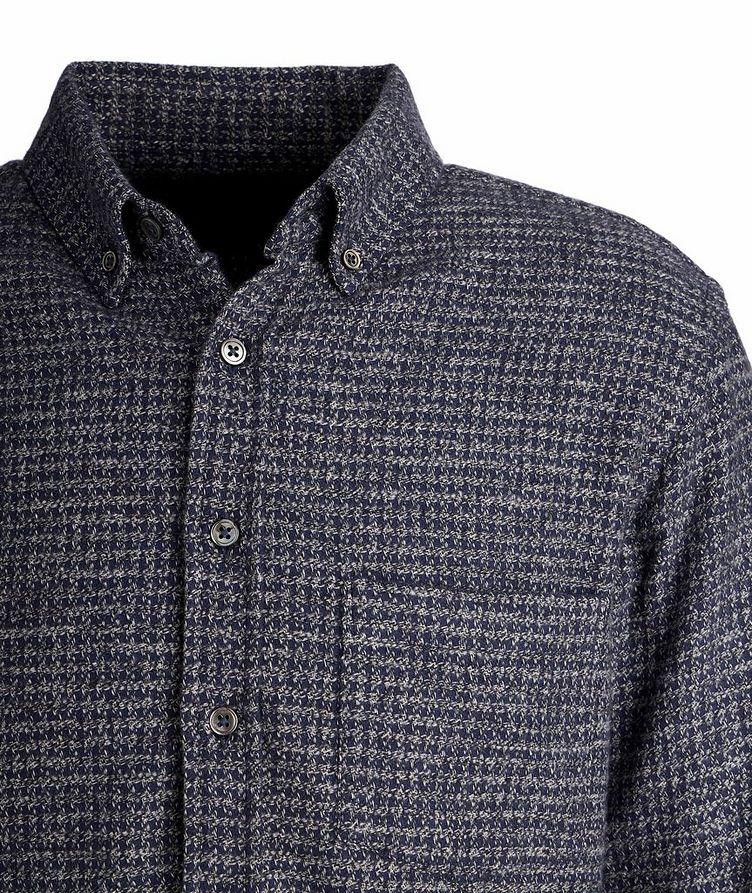 Chemise en flanelle de coton à pied-de-poule image 1