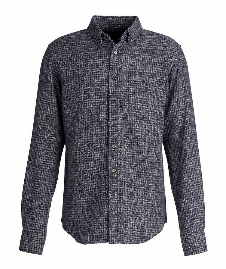 Houndstooth Cotton-Flannel Shirt image 0