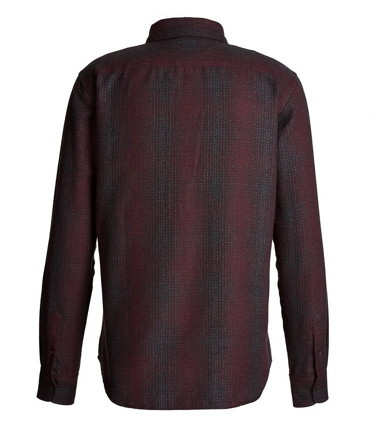 Plaid Cotton-Flannel Shirt image 1