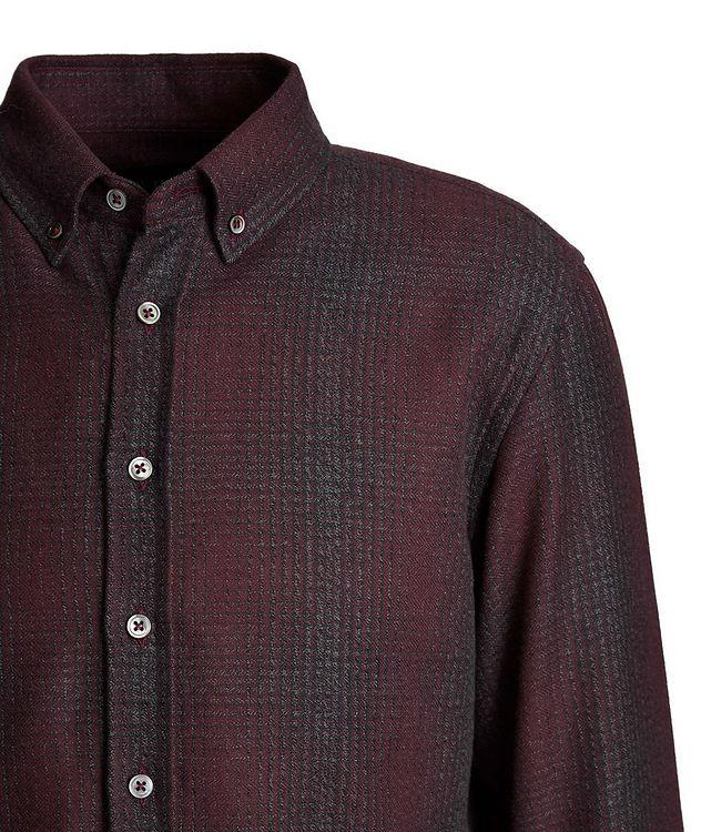 Plaid Cotton-Flannel Shirt picture 3