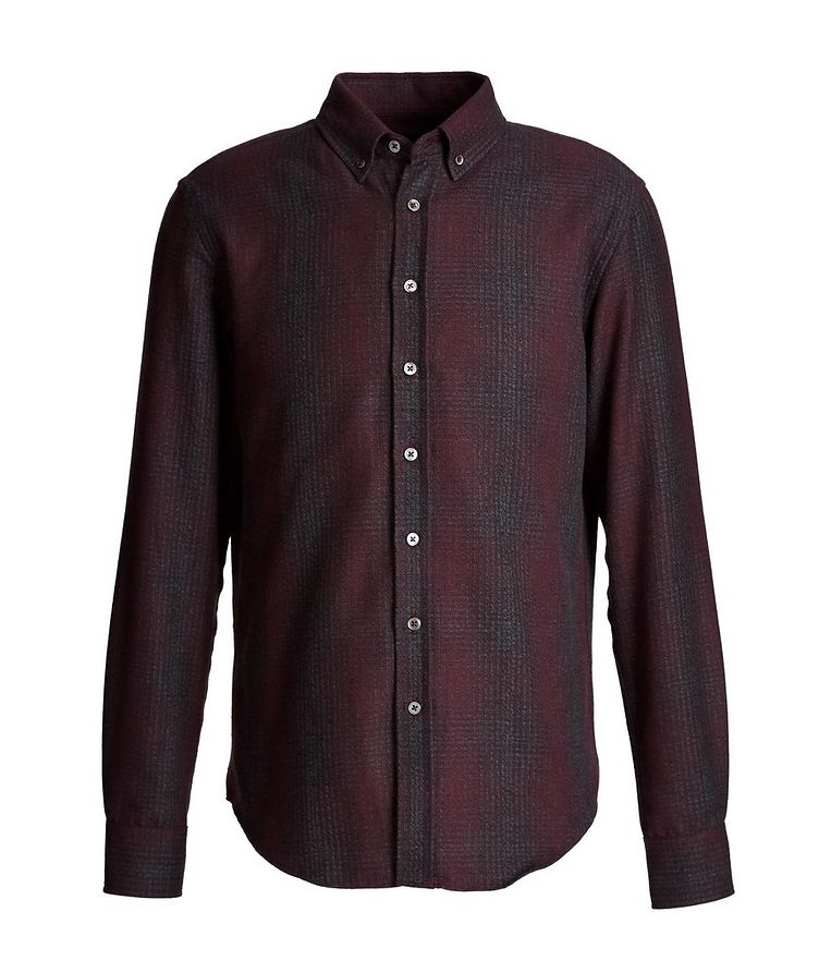 Plaid Cotton-Flannel Shirt image 0